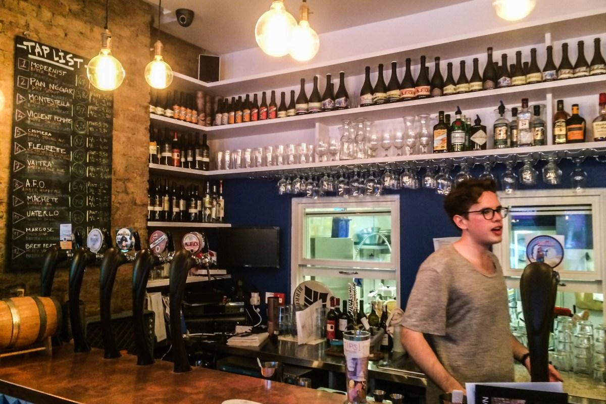 Cerveja artesanal italiana em londres