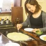【大牟田】お好み焼きだるまのランチ&スイーツ(もんじゃ焼き・焼きそば・きなこもち)