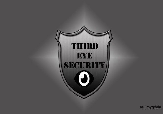 An insignia of a security service in India.