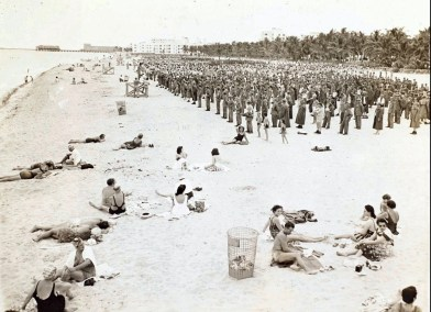 WWII Beach Promotion