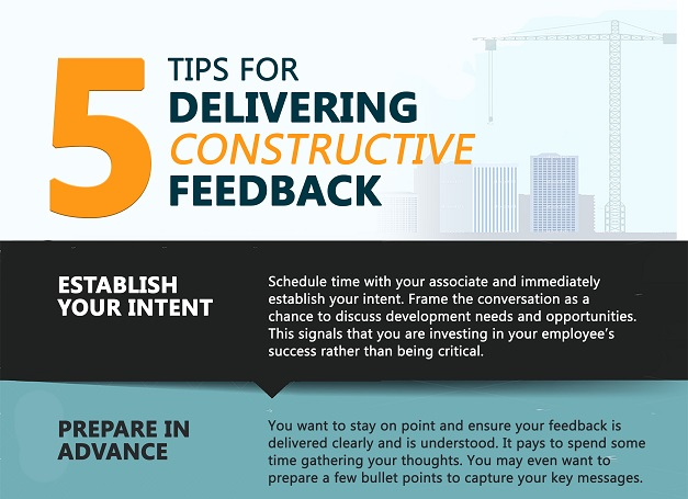 5 Tips for Delivering Constructive Feedback
