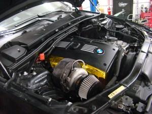 On 3 Performance BMW 335i N54 Top Mount Single Turbo