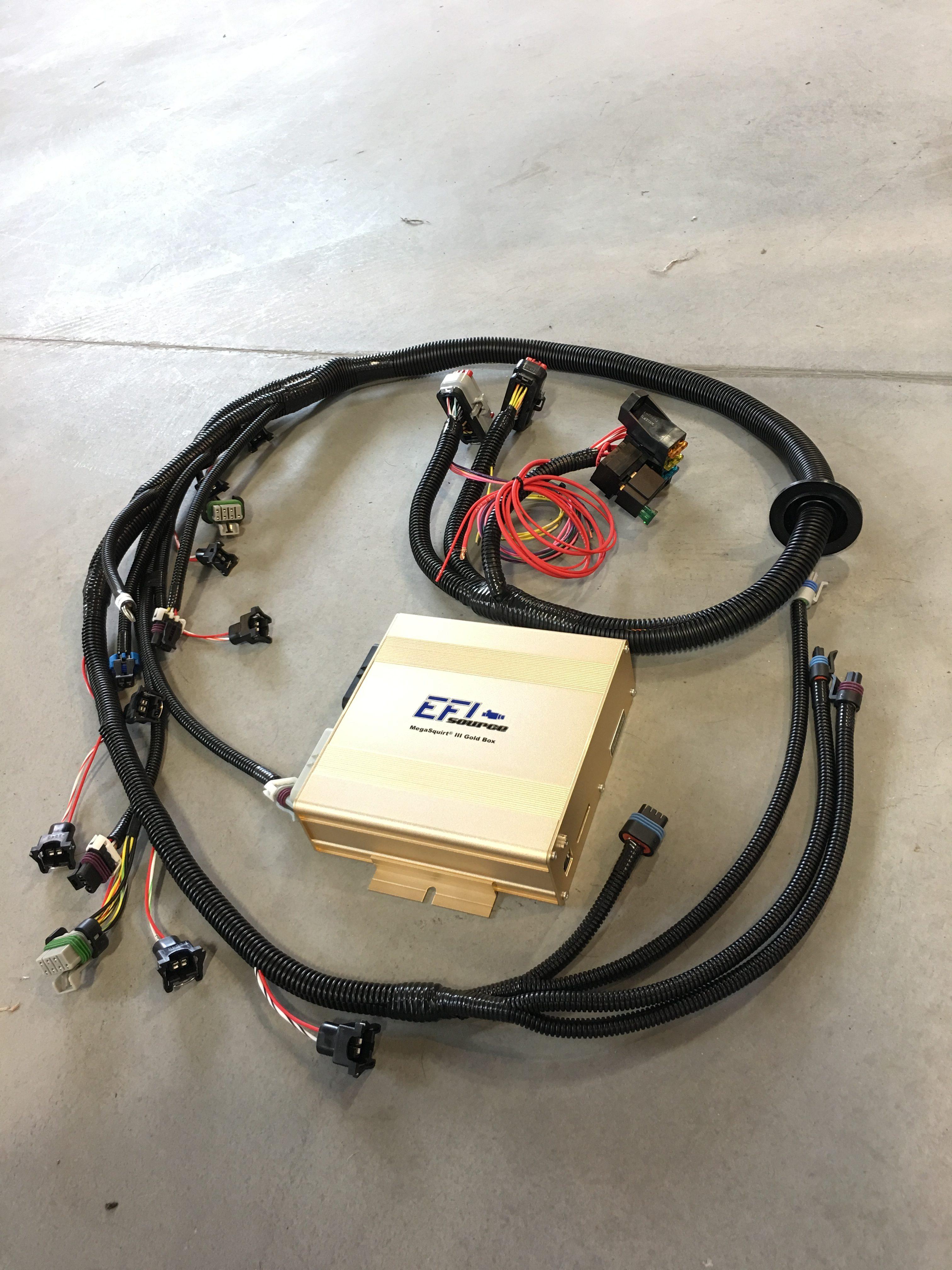 Lsx Standalone Ecu W Plug Amp Play Engine Wiring Harness