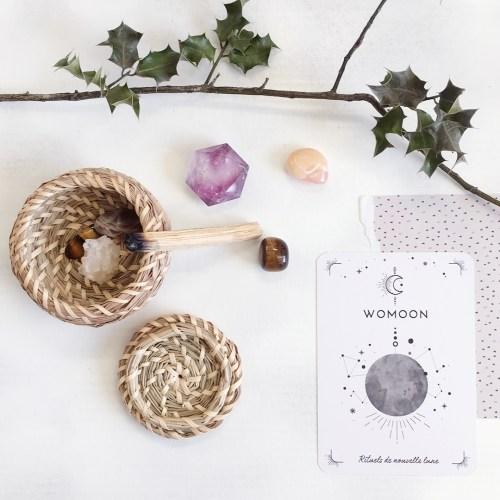womoon boutique esoterique - feminin sacré - cristaux, rituels et palo santo