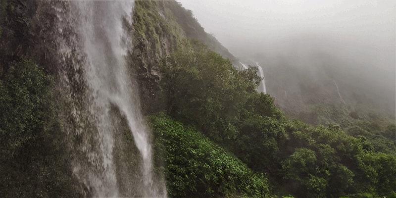 Heavenly feelings at Tamhini waterfall