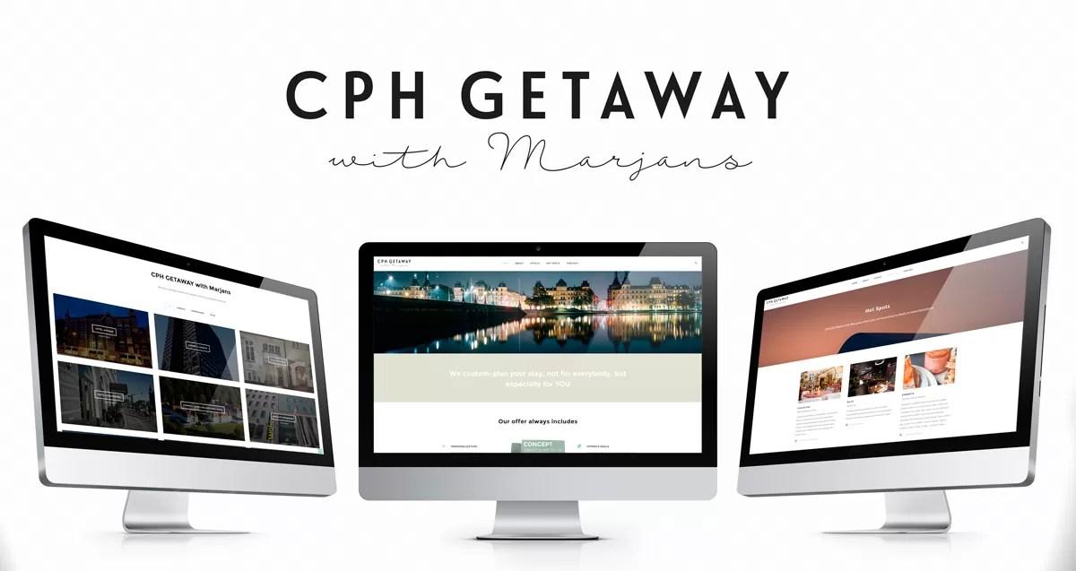 design af salgsmaterialer, hjemmeside-visitkort-flyer-print-onad aarhus for cph getaway