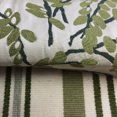 Greenery fabrics 3