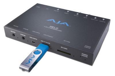 AJA HELO product image