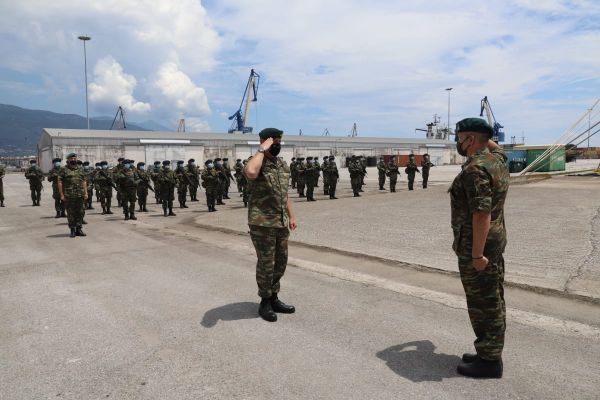 Α/ΓΕΕΘΑ: Επίσκεψη του Ευβοιώτη Στρατηγού Φλώρου