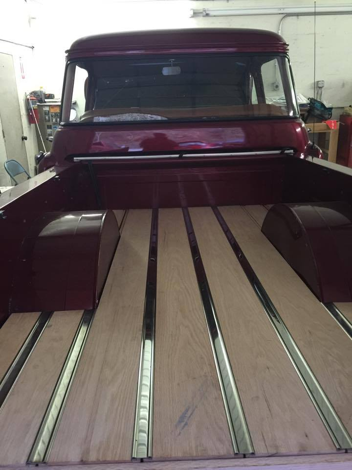 Ride Shares Steve S 468 Powered 1957 Chevy Pickup