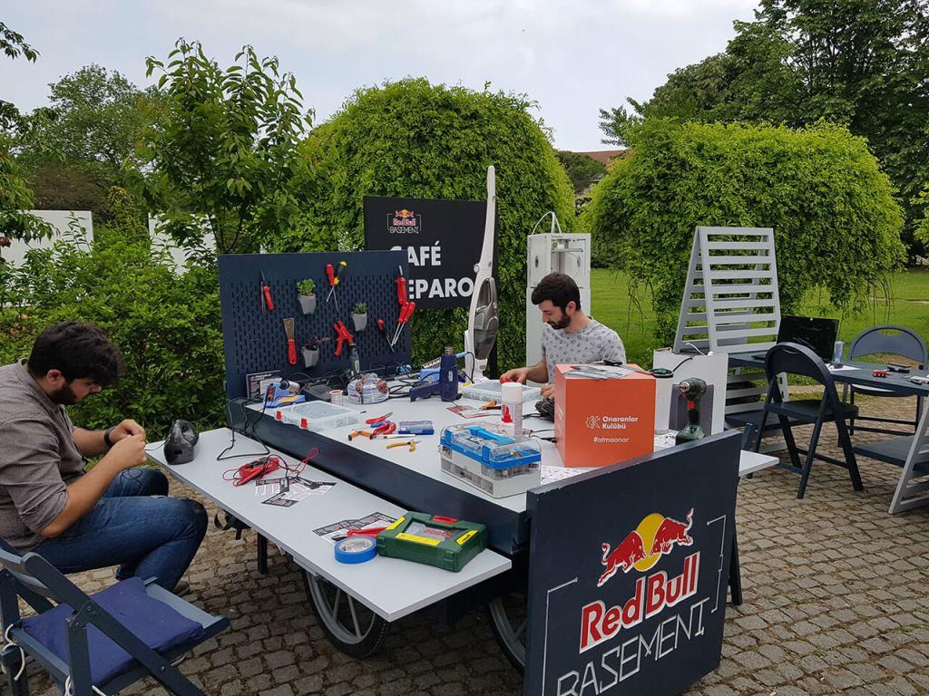 Red Bull Basement ile Café Reparo - 01