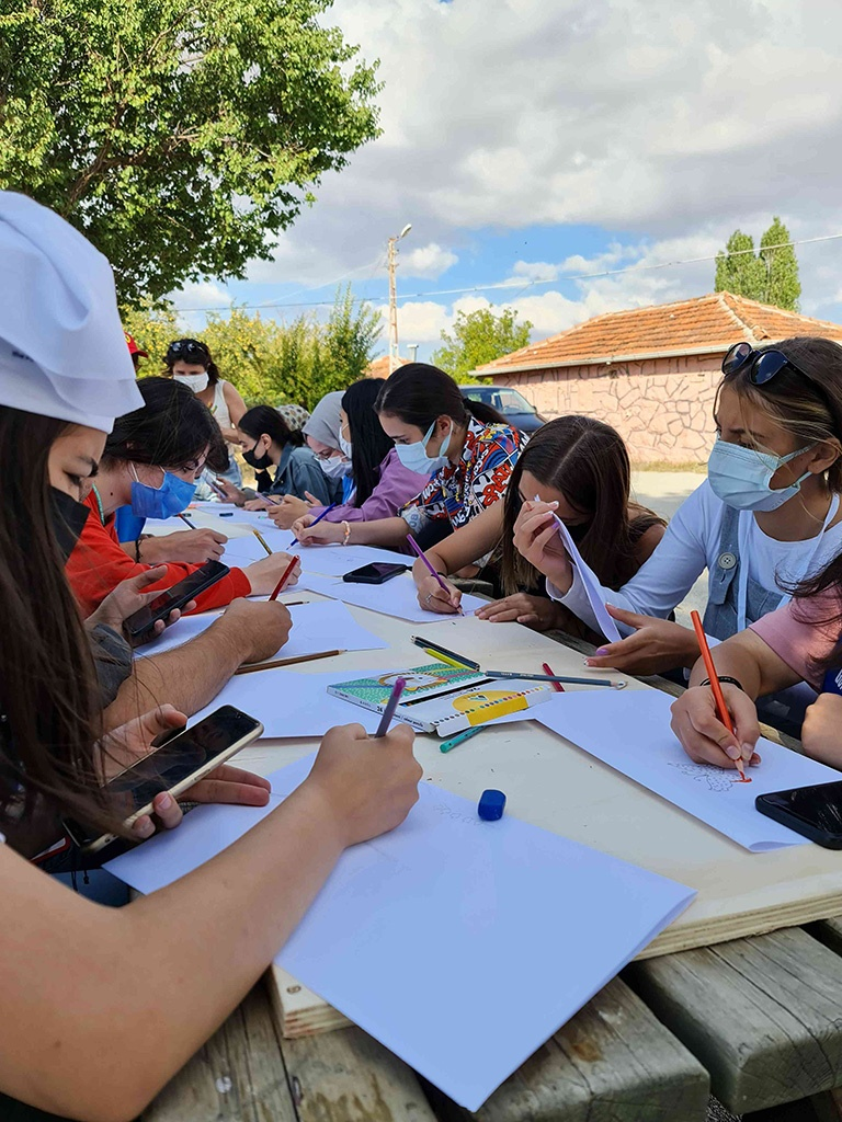Ankara'daki Bir Köy Okulunu Onardık - 07