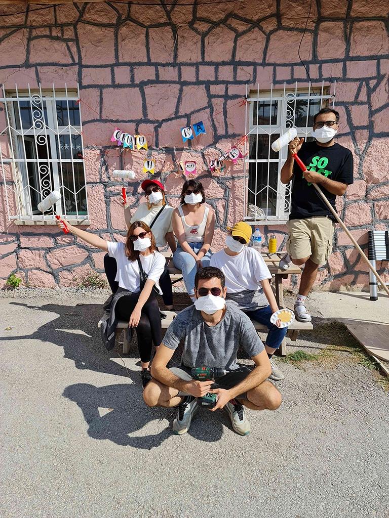 Ankara'daki Bir Köy Okulunu Onardık - 09