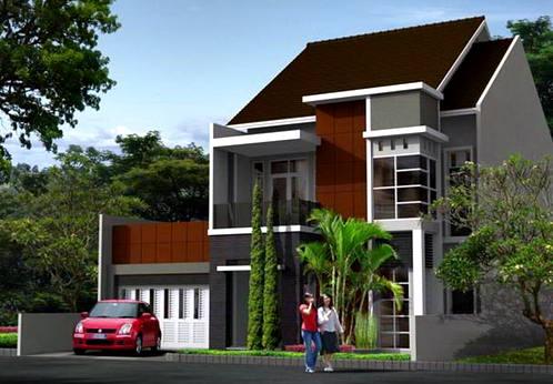 Desain Rumah Minimalis 2 Lantai Pakai Atap Jasa Desain Arsitektur