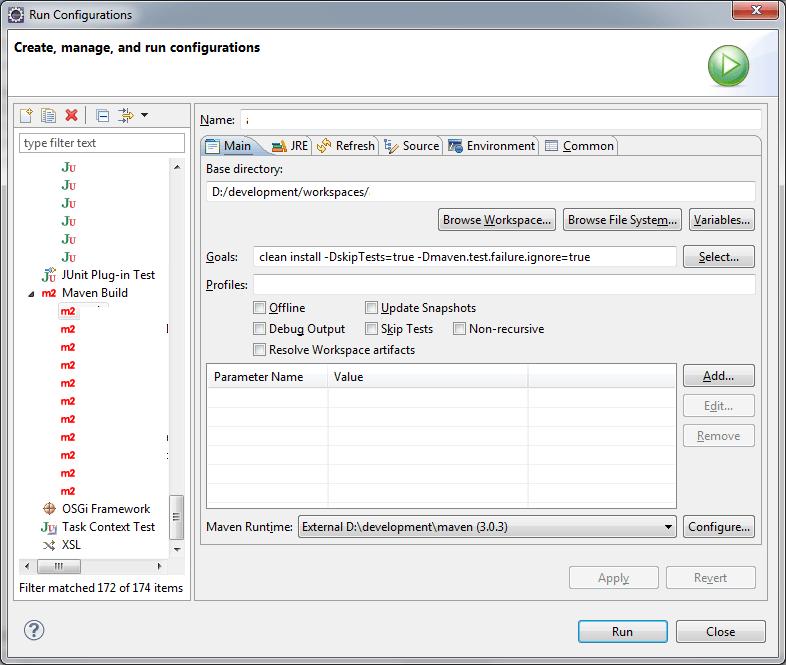 Comment convertir un project java maven en projet Eclipse
