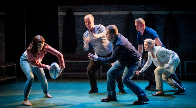 """""""Crouch, Touch, Pause, Engage"""" at the Arcola Theatre"""