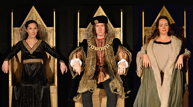 """Good King Richard"" at the White Bear Theatre"