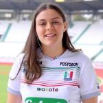 Ángela Aristizábal, diseñadora de la camiseta 2021