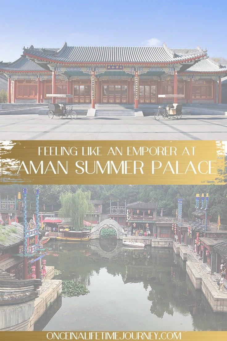 Aman Summer Palace Pin
