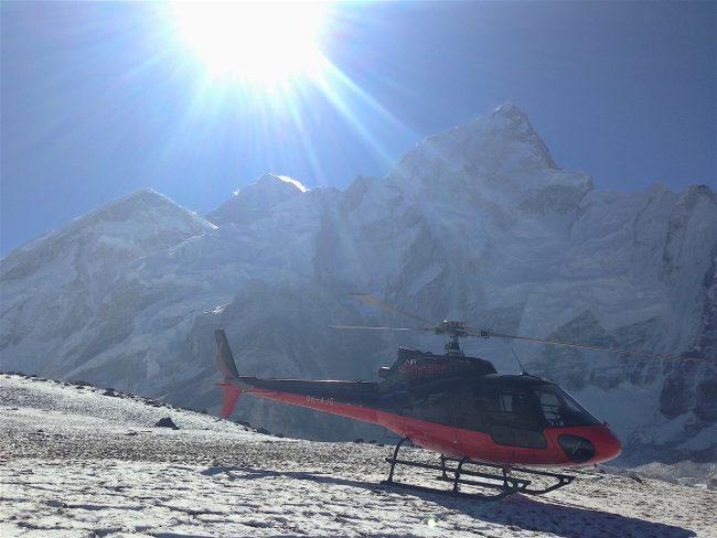 """""""Landing at Everest Base Camp"""""""
