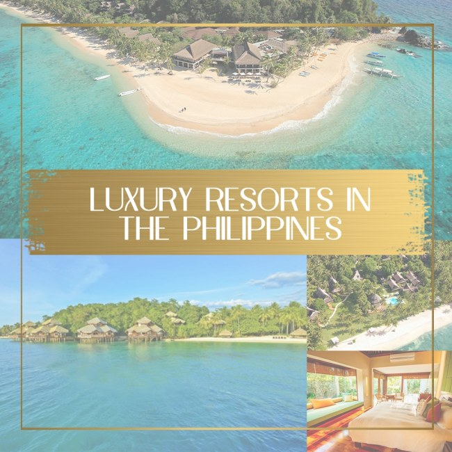 Luxury resorts in the Philippines main
