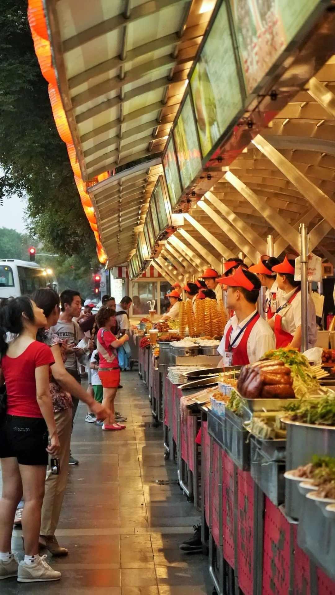 Beijing Night Food market