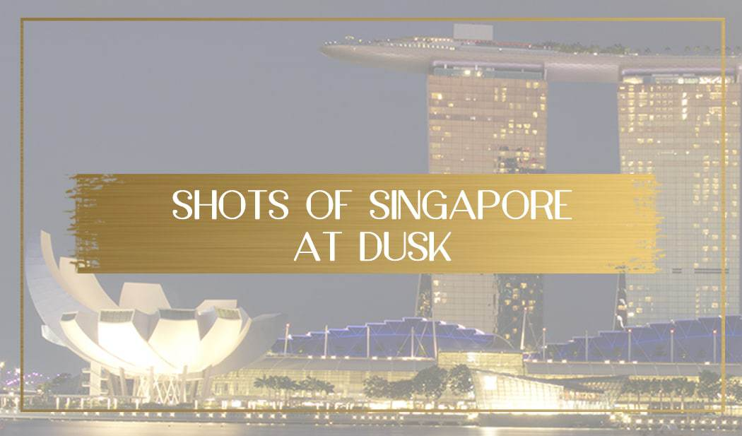 Singapore at dusk main