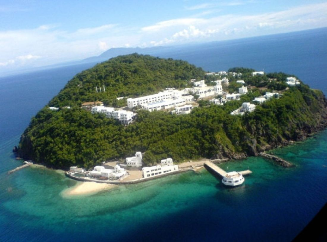 Bellarocca Island Resort & Spa aerial view