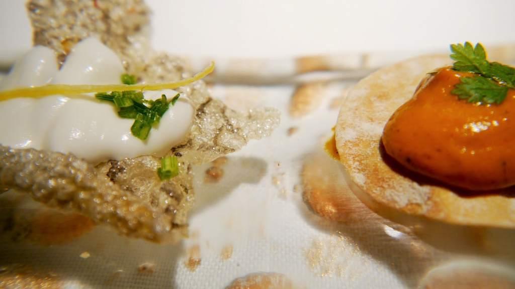 Amouse bouche Restaurant Cinc Sentits Proximity food