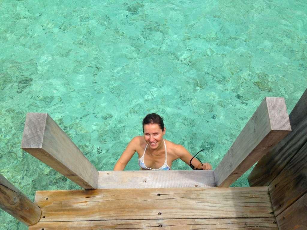 Six Sense Laamu overwater villa