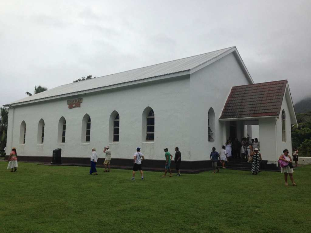 Church in the cook islands