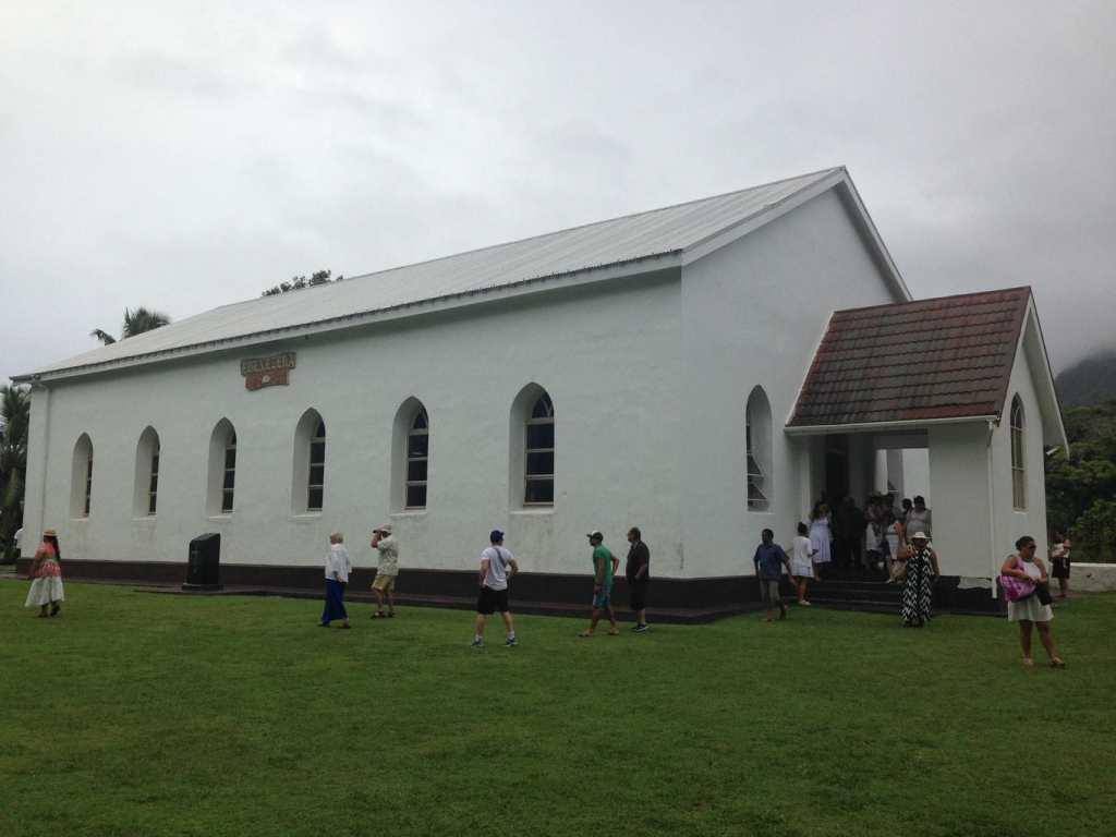 Church in the cook islands