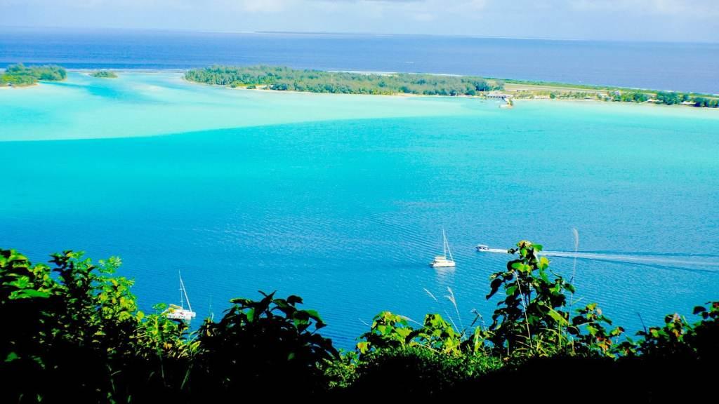 Beautiful Bora Bora Motu