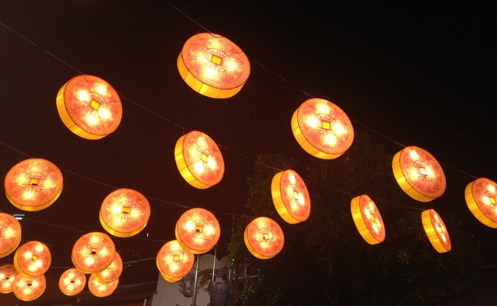 Street decorations Chinatown