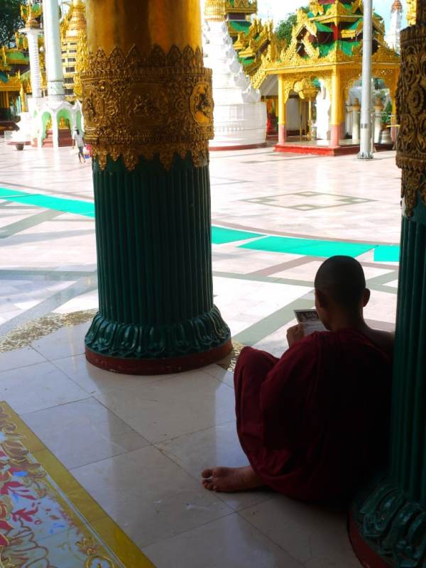 Taking a rest Tourism in Yangon