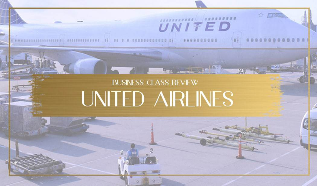 United Airlines Business Class Review main