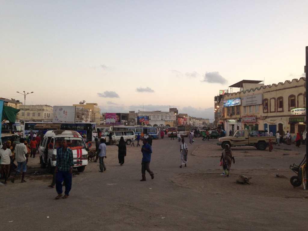 Djibouti square