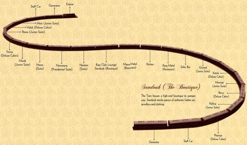 Trains map