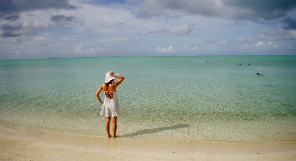 Matira Beach - Bora Bora beaches in the South Pacific