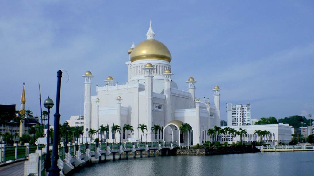 Brunei's main mosque