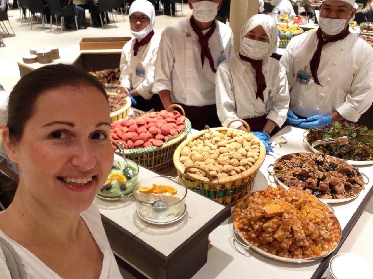 """""""Enjoying the meal at Nurul Istana"""""""
