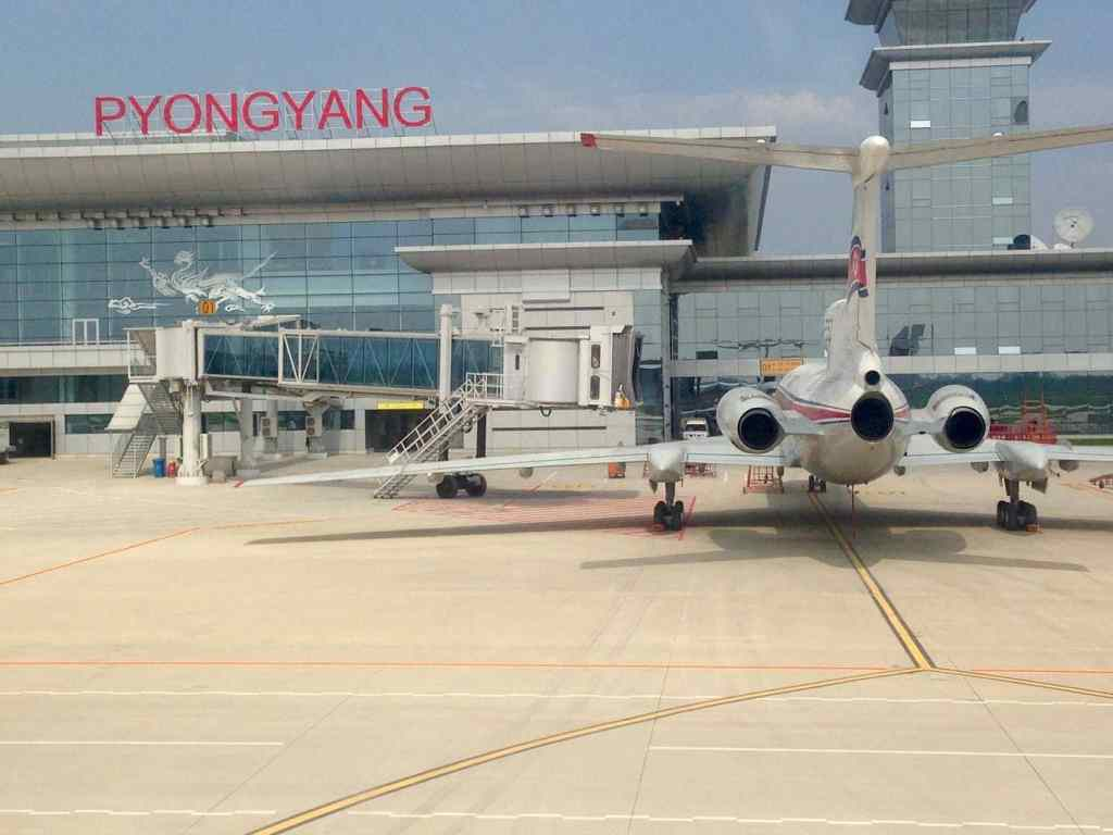 Newly opened Pyongyang airport