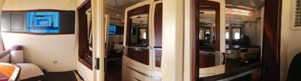 Singapore Airlines Suites interior