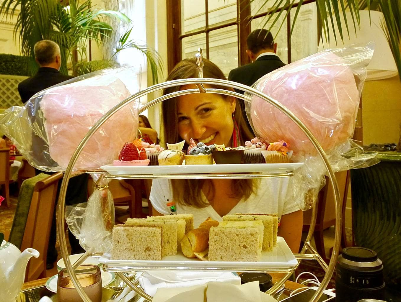 Fabulous High Tea At The Plaza Palm Court In New York