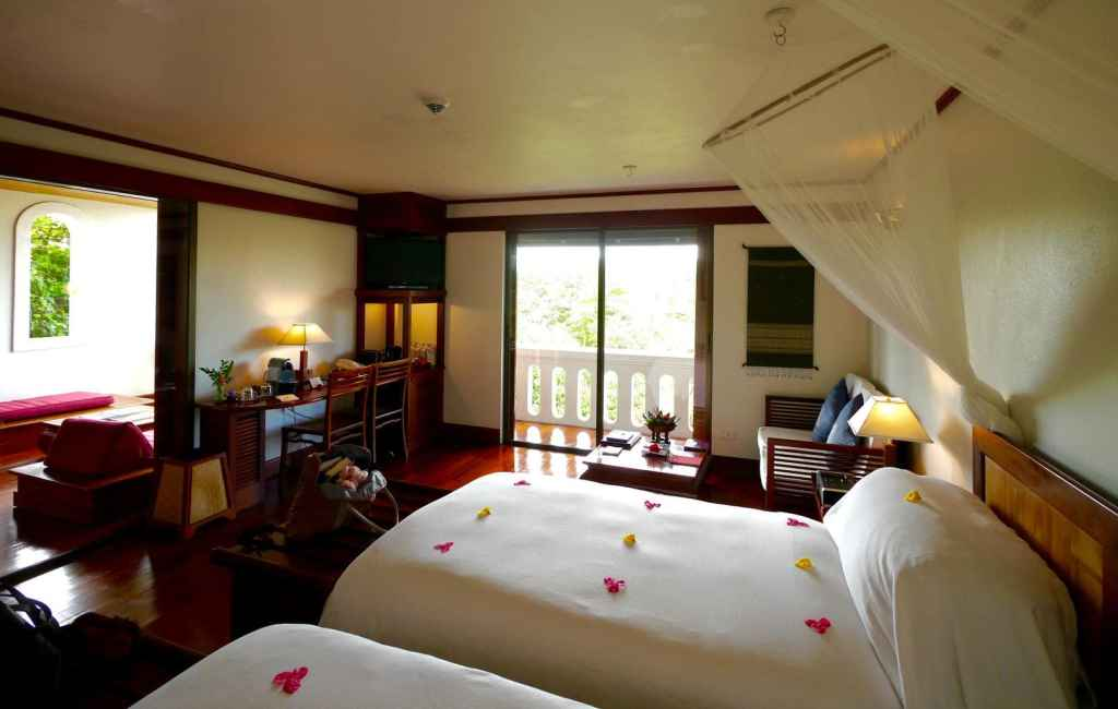 La Residence Phou Vao Bedroom