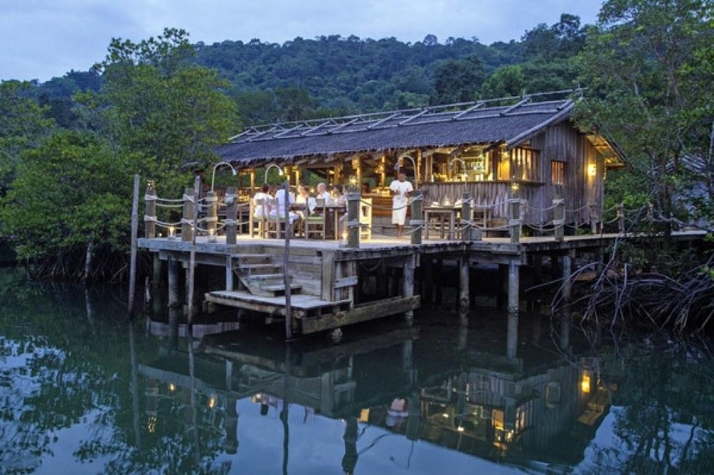 Benz Restaurant Soneva Kiri