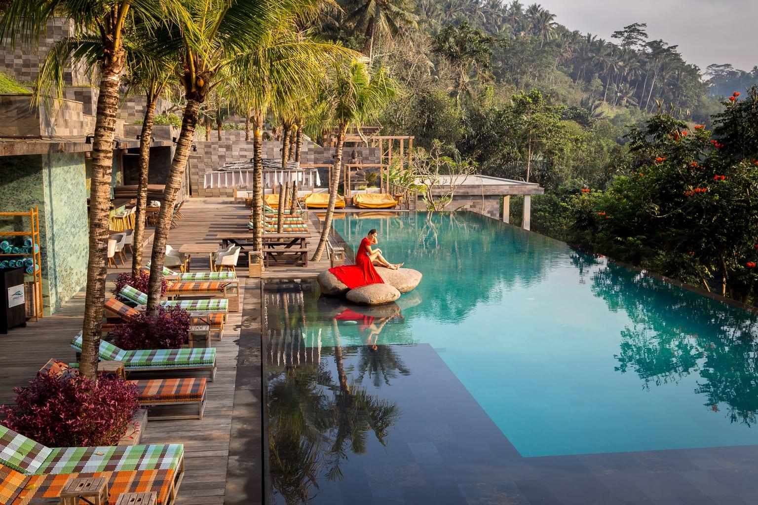 Chapung Se Bali Ubud S Sexy Hip Resort Among Lush Vegetation