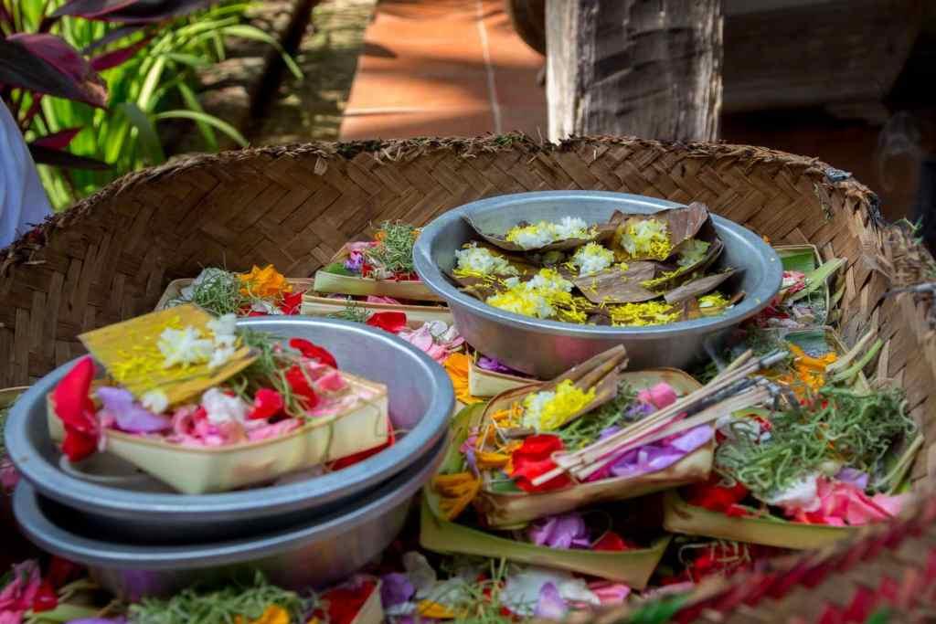 Bali's Hindu offerings