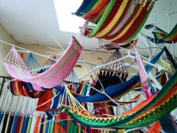 Souvenirs from around the world: baby hammocks from Nicaragua