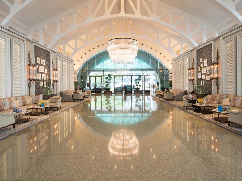 The Fullerton Bay Singapore interior